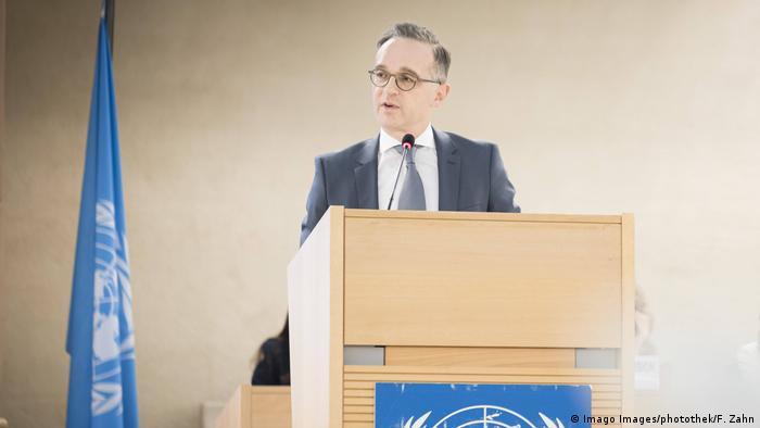 43. UN-Menschenrechtsrat | Deutscher Bundesaussenminister Heiko Maas