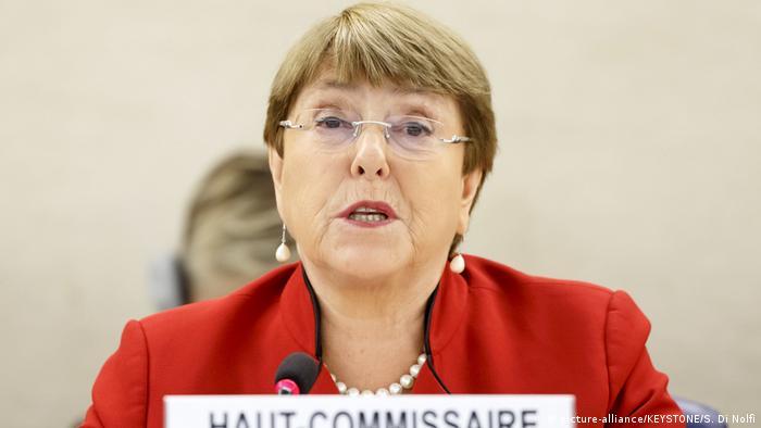 Die UN-Hochkommissarin für Menschenrechte, Michelle Bachelet: Konfliktparteien müssen stabiles Friedensabkommen erzielen