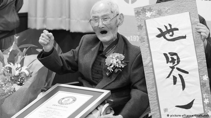Chitetsu Watanabe - Ältester Mann der Welt ist gestorben