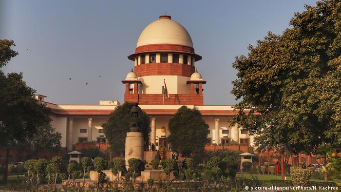 Indien Oberster Gerichtshof in Neu Dehli