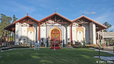 Le palais de Ménélik II à Adis Abeba
