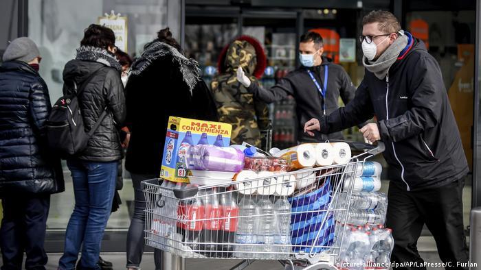 Italien - Casalpusterlengo - Coronavirus