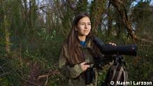 UK Junge Vogelbeobachterin Mya-Rose Craig