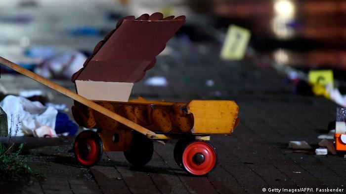A handcart in Volksmarsen