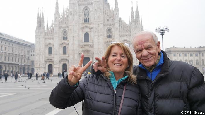 Italien Mailand Coronavirus