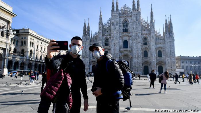 Italia Milano Coronavirus (picture-alliance/dpa/C. Furlan)
