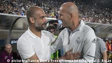 International Champions Cup 2017 < Real Madrid - Manchester City | Pep Guardiola & Zinedine Zidane