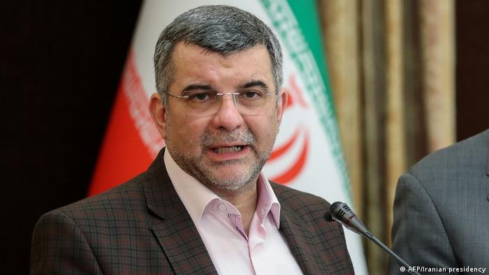Iran Vize-Gesundheitsminister Iraj Harirchi (AFP/Iranian presidency)