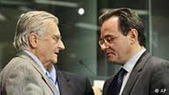 Trichet / Papaconstantinou / Euro