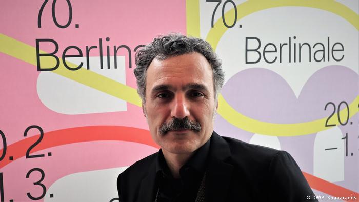 Berlinale 2020 Siamak Etemadi griechisch-iranischer Regisseur (DW/P. Kouparaniis)