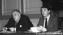 Großbritannien Cyril Smith und David Steel