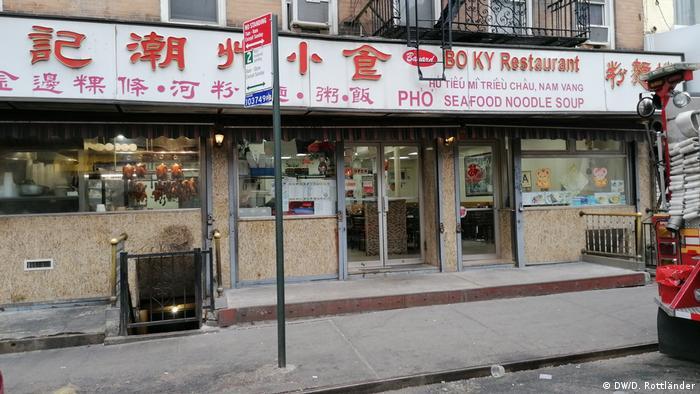 O restaurante Bo Ky, em Chinatown, perdeu parte da receita em janeiro