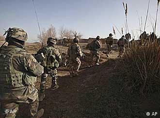 US-Soldaten im Einsatz in Afghanistan (Foto: AP)