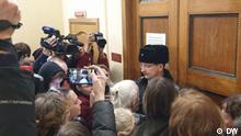 Russland Gericht in Sankt Petersburg   Prozess im Fall der Organisation Netzwerk