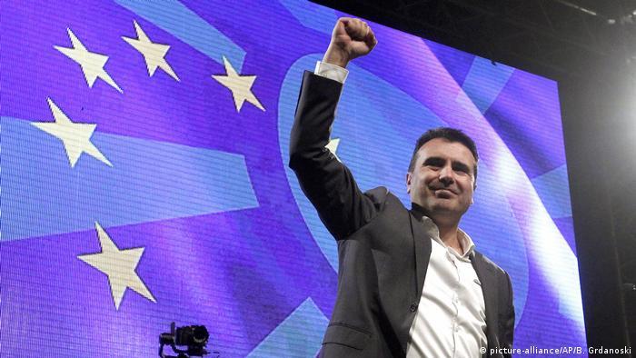 Nord-Mazedonien, Skopje: Zoran Zaev