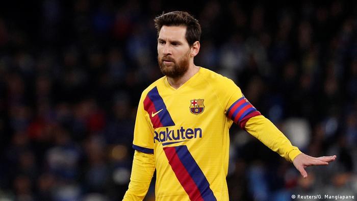 لیونل مسی، ستاره بارسلونا و تیم ملی فوتبال آرژانتین