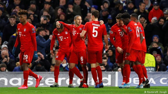 UEFA Champions League   FC Chelsea - Bayern München   1. TOR Bayern (Reuters/E. Keogh)