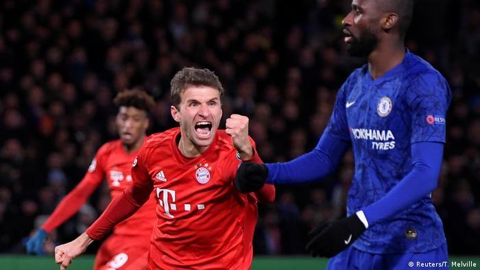 UEFA Champions League | FC Chelsea - Bayern München | 1. TOR Bayern
