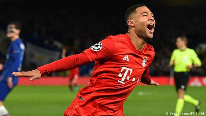 UEFA Champions League | FC Chelsea - Bayern München | 2. TOR Bayern, Gnabry (Getty Images/AFP/G. Kirk)
