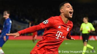 UEFA Champions League   FC Chelsea - Bayern München   2. TOR Bayern, Gnabry