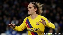 UEFA Champions League   SSC Neapel - FC Barcelona   1. TOR Barcelona, Antoine Griezmann