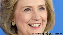Former First Lady of the United States and 67th United States Secretary of State Hillary Rodham Clinton attends the photocall for Hillary during the 70th Berlin International Film Festival at the Grand Hyatt Hotel in Berlin, Germany.25th February 2020 © Paul Treadway |