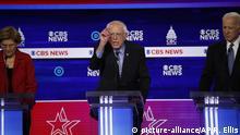 USA: CBS-TV Debatte der Präsidentschaftskandidaten