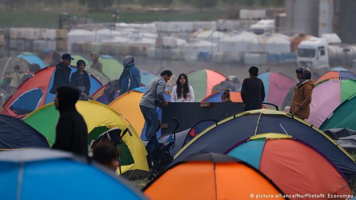 Symbolbild Asylsuchende in der EU