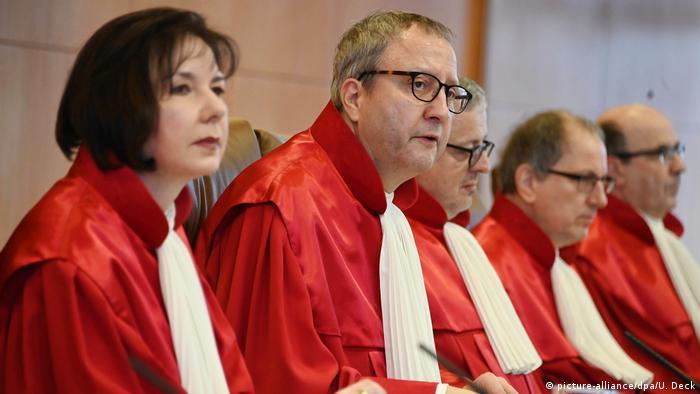 Deutschland Karlsruhe Bundesverfassungsgericht verkündet Urteil zum Sterbehilfe-Verbot