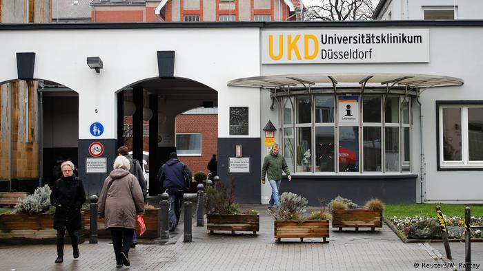 Deutschland Uniklinik Düsseldorf | Coronavirus