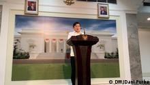 Indonesien Jakarta Minister für nationale Entwicklungsplanung Suharso Monoarfa