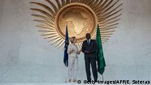Äthiopien Addis Abbeba Ursula von der Leyen und Moussa Faki Mahamat