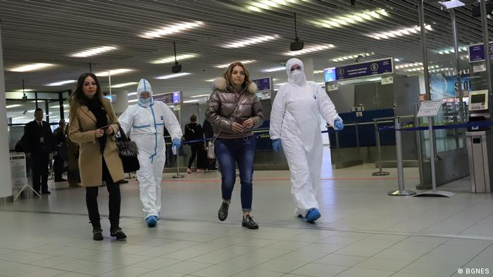 Навчання в аеропорту Софії