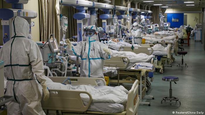 BG Wuhan, Epizentrum des chinesischen Coronavirus-Ausbruchs