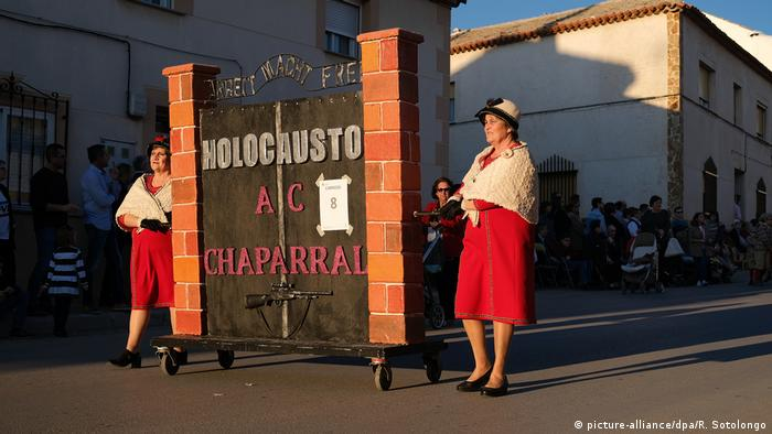 Part of the Holocaust-themed Carnival