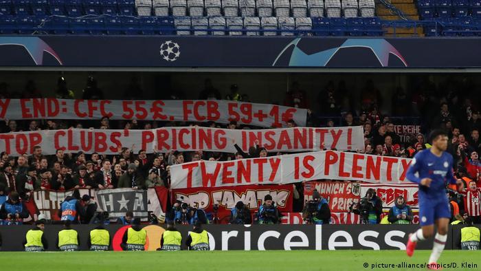 UEFA Champions League   Chelsea gegen Bayern München: Bayern Fans