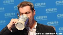 Passau   Markus Söder beim Politischen Aschermittwoch der CSU