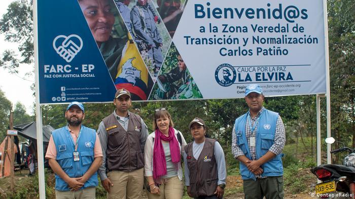 Kolumbien Veredal La Elvira   Friedensabkommen