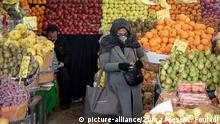 Iran Teheran   Coronavirus Vorsichtsmaßnahmen
