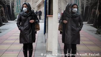 Iran Teheran | Coronavirus Vorsichtsmaßnahmen
