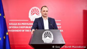 Venko Filipce Gesundheitsminister Nordmazedoniens