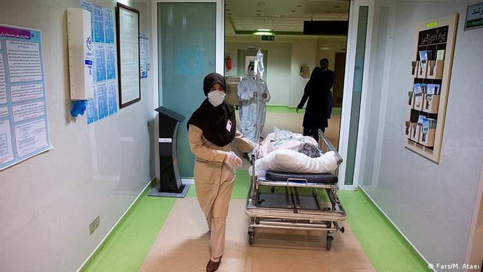 Iran Corona-Kranker im Krankenhaus