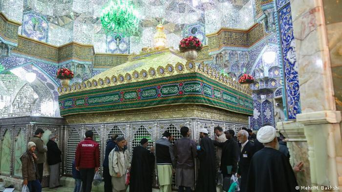 Iran Ghom heiliger Schrein vor Schließung wegen Coronavirus