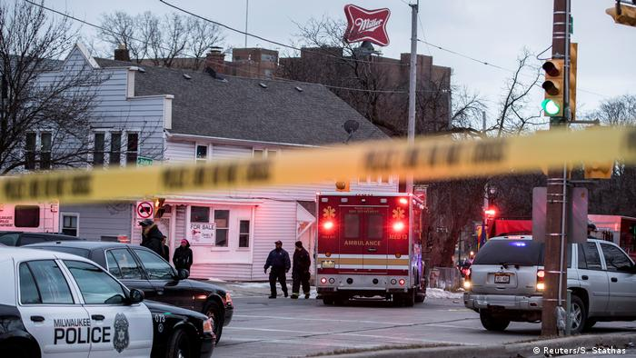 USA Schießerei bei Molson Coors in Milwaukee, Wisconsin