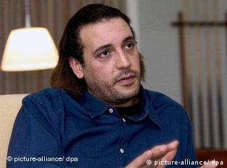 Picture of Hannibal Gadhafi, son of Libyan leader Moammar Gadhafi