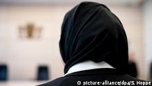 München - Berufungsverhandlung um Kopftuchverbot: Jurastudentin Aqilah S.