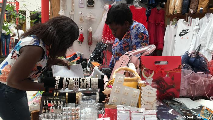 A shop with two women