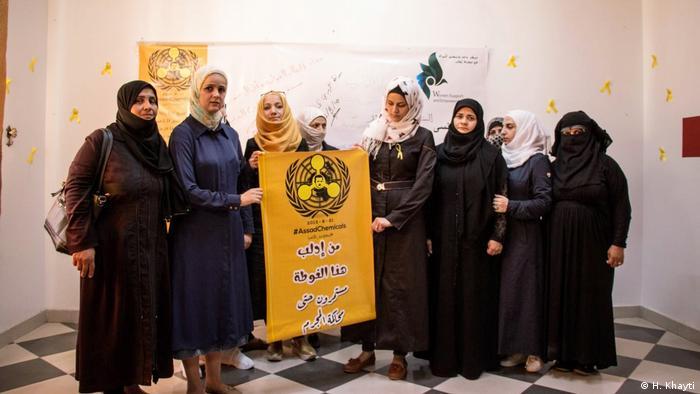 Syrien | Huda Khayti und ihr Team im Frauenzentrum Idlib