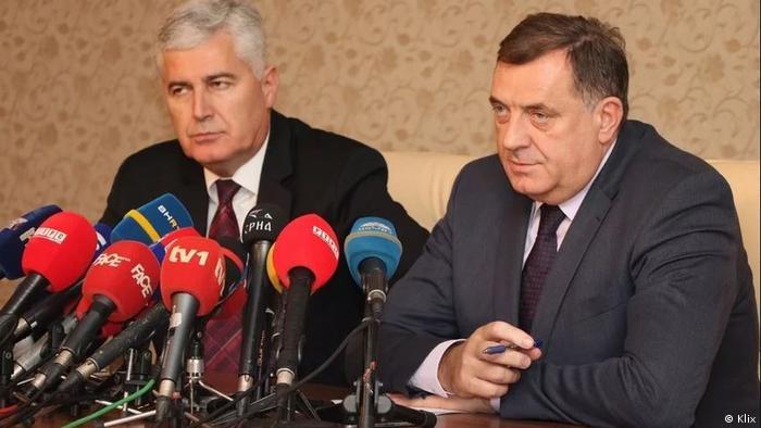 Dragan Čović i Milorad Dodik zajednički rade na fragmentiranju Bosne i Hercegovine
