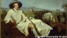 Malerei | Goethe in der Campagna von Johann Heinrich Tischbein